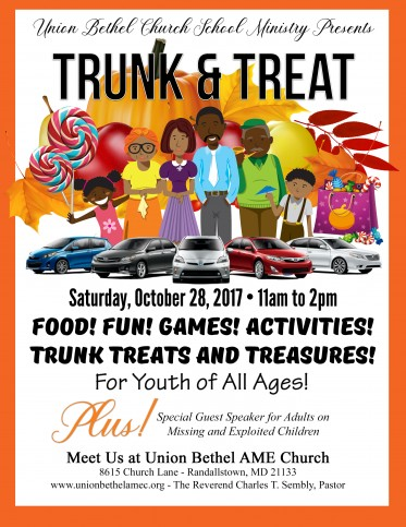Trunk and Treat 2017